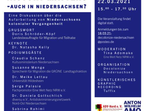 Black Lives History Matters- auch in Niedersachsen?
