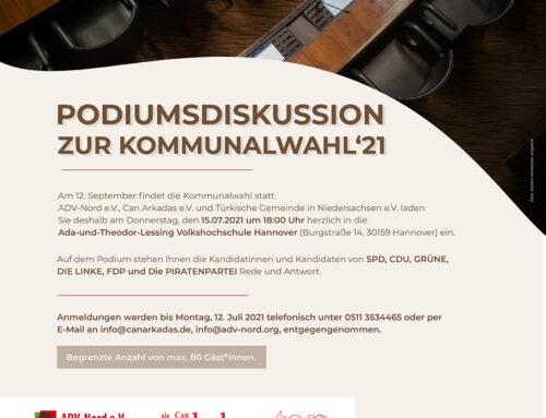 PODIUMSDISKUSSION ZUR KOMMUNALWAHL'21