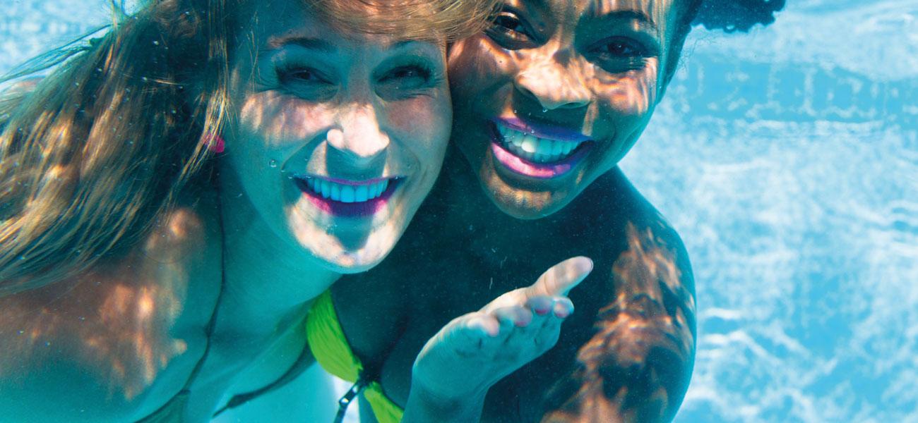 Frauen kennenlernen schwimmbad